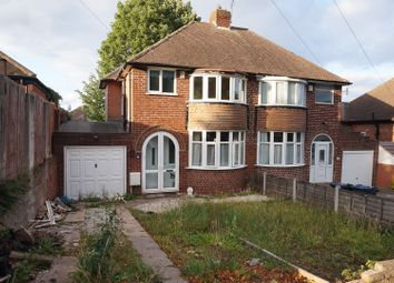Thumbnail 3 bed semi-detached house for sale in Millfield Road, Handsworth Wood, Birmingham