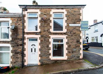 Thumbnail 2 bed terraced house for sale in Victoria Street, Treharris