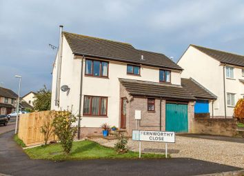 Thumbnail 4 bedroom detached house for sale in Fernworthy Close, Copplestone, Crediton