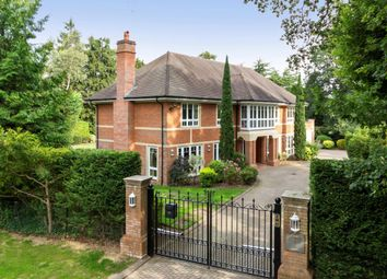 Thumbnail 5 bedroom detached house to rent in Broadwater Road South, Burwood Park, Hersham, Walton-On-Thames