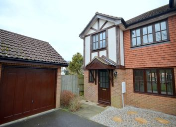 Thumbnail 3 bed semi-detached house to rent in Warren View, Ashford