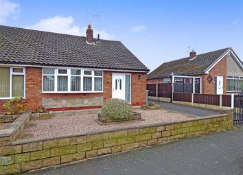 Thumbnail 2 bed semi-detached bungalow for sale in Coleridge Way, Crewe