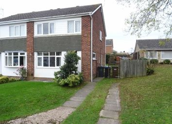 Thumbnail 3 bed semi-detached house for sale in Carpenters Close, Burbage, Hinckley