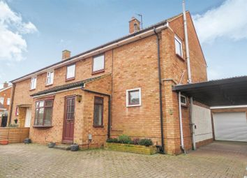 Thumbnail 3 bed semi-detached house for sale in Oak Crescent, Biggleswade
