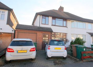 Thumbnail 3 bed semi-detached house for sale in Cherry Tree Avenue, Staines-Upon-Thames, Surrey