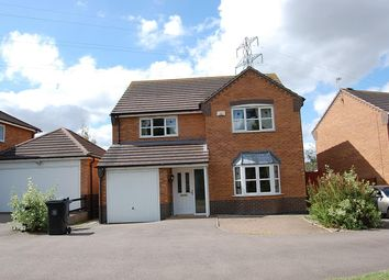 Thumbnail 4 bed detached house to rent in The Belfry, Grantham