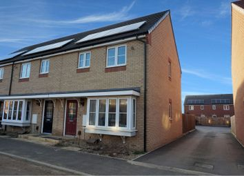 Thumbnail 3 bed end terrace house for sale in Dandelion Drive, Peterborough