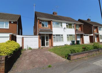 Thumbnail 3 bed semi-detached house for sale in Knoll Drive, Styvechale, Coventry
