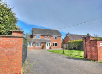Thumbnail 5 bed detached house for sale in Dereham Road, Garvestone, Norwich