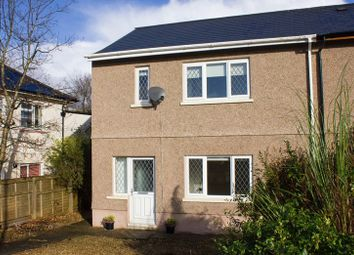 Thumbnail 2 bedroom semi-detached house for sale in Dolfain, Ystradgynlais, Swansea