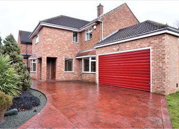 Thumbnail 4 bed detached house for sale in Connaught Road, Middlesbrough