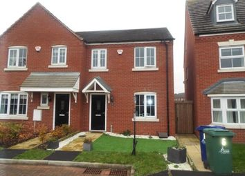Thumbnail 3 bed semi-detached house for sale in Caversham Mews, Bridgtown, Cannock, Staffordshire
