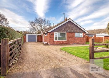 Thumbnail 3 bed detached bungalow for sale in The Common, St Michaels Mead, Happisburgh, Norfolk