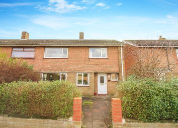 Thumbnail 2 bedroom semi-detached house to rent in Patton Way, Pegswood, Morpeth