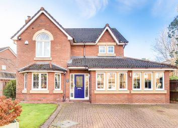 Thumbnail 4 bed detached house for sale in Pendle Gardens, Culcheth, Warrington
