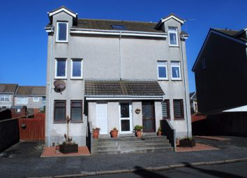 Thumbnail 2 bed flat for sale in Welbeck Crescent, Troon, South Ayrshire