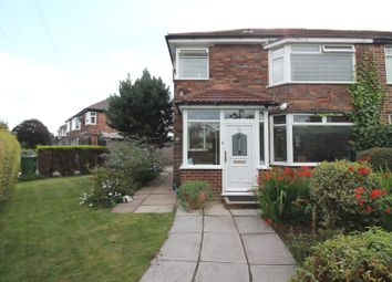 Thumbnail 3 bedroom semi-detached house for sale in Newcroft Road, Urmston, Manchester