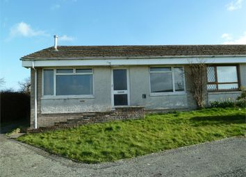 Thumbnail 2 bed terraced bungalow for sale in 36 Felin Ban Estate, Cardigan, Ceredigion