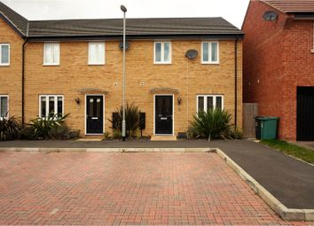 Thumbnail 3 bedroom end terrace house for sale in Herald Way, Peterborough
