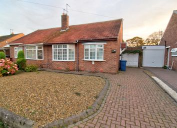 Thumbnail 2 bed semi-detached bungalow for sale in Horwood Avenue, Westerhope, Newcastle Upon Tyne