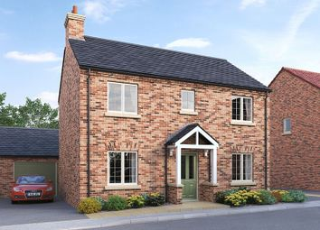 Thumbnail 3 bed detached house for sale in Plot 4, The Paddocks, Rillington, Malton