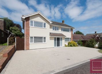 Thumbnail 5 bed detached house for sale in Brettingham Avenue, Cringleford