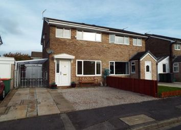 Thumbnail 3 bed semi-detached house for sale in Langport Close, Fulwood, Preston, Lancashire