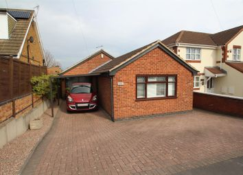 Thumbnail 3 bed detached bungalow for sale in Beacon Avenue, Thurmaston, Leicester