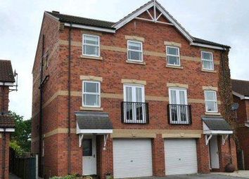 Thumbnail 3 bedroom town house to rent in 19 Shuttle Close, Rossington, Doncaster