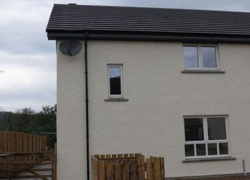 Thumbnail 2 bed semi-detached house for sale in Raasay Court, Fort William