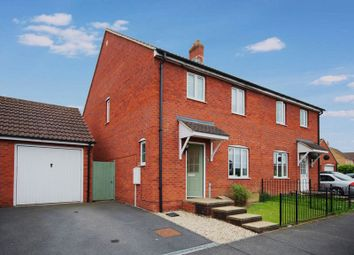 Thumbnail 3 bed semi-detached house for sale in Merevale Way, Yeovil