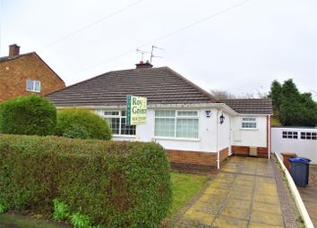 Thumbnail 2 bed semi-detached bungalow for sale in Lawnwood Road, Groby, Leicester