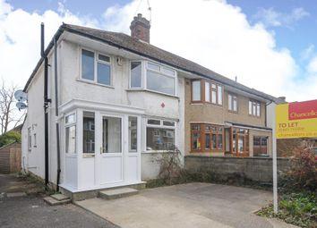 Thumbnail 3 bedroom semi-detached house to rent in Weyland Road, Headington