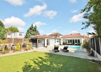 Thumbnail 5 bed detached bungalow for sale in Feltham Road, Ashford, Surrey