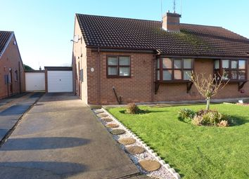 Thumbnail 2 bedroom bungalow to rent in Hall Rise, Messingham, Scunthorpe