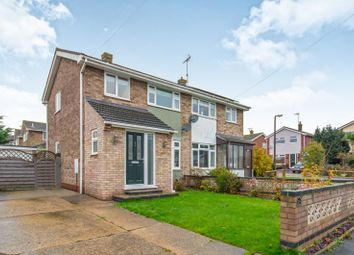 Thumbnail 3 bedroom semi-detached house to rent in Mendip Road, Oulton, Lowestoft