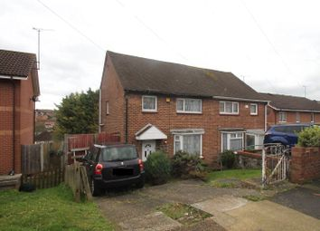 Thumbnail 3 bed semi-detached house for sale in Tedder Avenue, Chatham, Kent