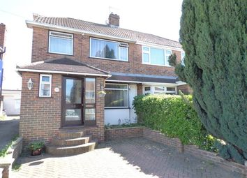 Thumbnail 4 bed semi-detached house for sale in Fleet Road, Dartford