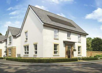 "Thumbnail 4 bedroom detached house for sale in ""Brora"" at Malletsheugh Road, Newton Mearns, Glasgow"