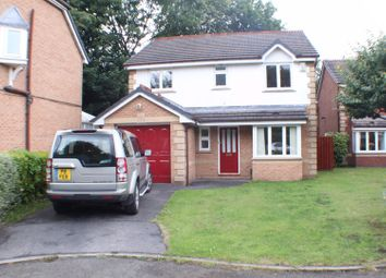Thumbnail 4 bed detached house for sale in Keaton Close, Salford