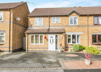 Thumbnail 5 bed semi-detached house for sale in Scalborough Close, Countesthorpe, Leicester