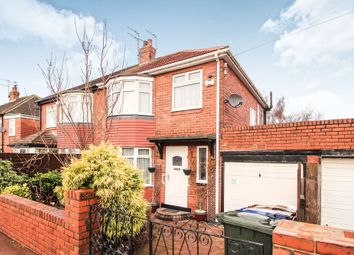 Thumbnail 3 bedroom semi-detached house for sale in Benwell Hill Road, Newcastle Upon Tyne