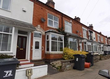 Thumbnail 2 bed terraced house to rent in Hampton Court Road, Harborne