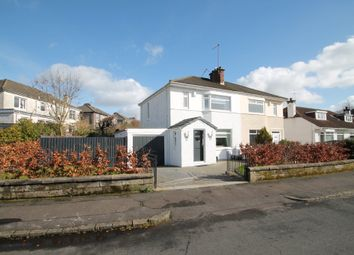 Thumbnail 3 bedroom semi-detached house for sale in Ross Hall Avenue, Ralston, Paisley