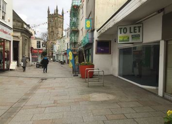 Thumbnail Retail premises to let in Unit 1, 19-21, Fore Street, St Austell, Cornwall