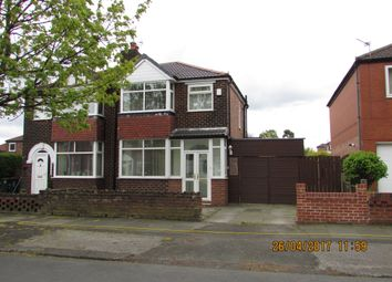 Thumbnail 3 bed semi-detached house to rent in Foxhall Rd, Denton
