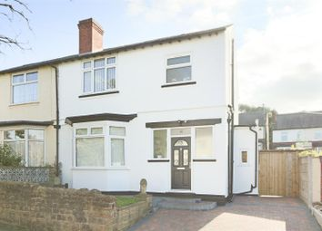 Thumbnail 3 bed semi-detached house for sale in Ramsdale Crescent, Sherwood, Nottingham