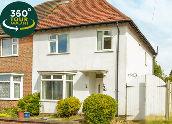 Thumbnail 3 bed semi-detached house for sale in Parkland Drive, Oadby, Leicester
