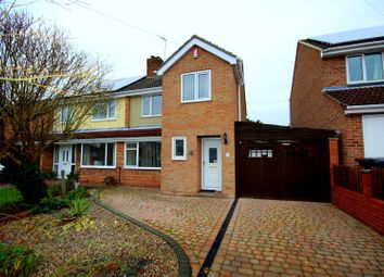 Thumbnail 3 bed semi-detached house for sale in Blakelow Drive, Etwall, Derby