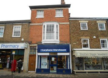 Thumbnail 1 bed flat to rent in High Street, Oakham, Rutland